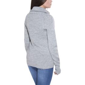 Ulvang Rav Half Zip Wool Sweater Unisex Grey Melange